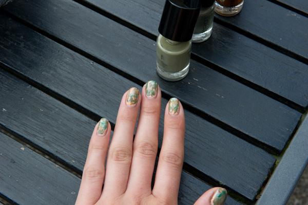 Simpele nail-art