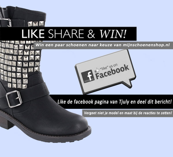 Mijnschoenenshop.nl Winactie Facebook