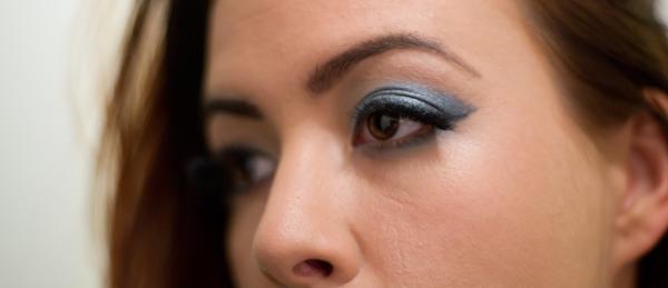 Blauwe ooglook bij Bruine ogen!
