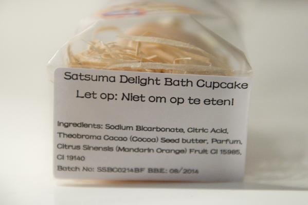 Satsuma Delight Cupcake