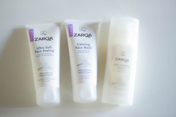 Zarqa face care masker serum peeling