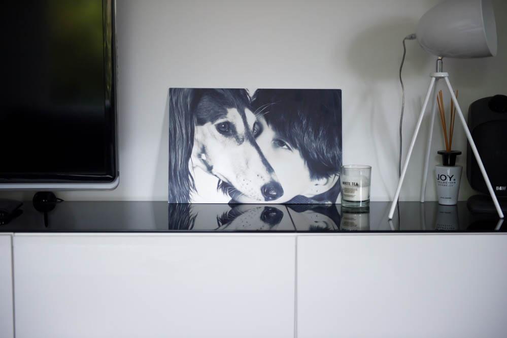 foto op aluminium van pixum