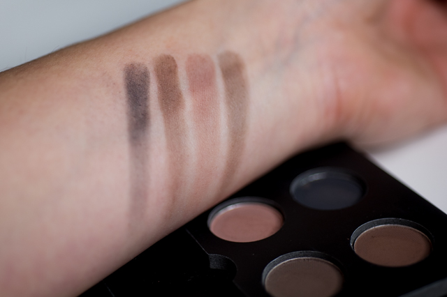 Gerard Brinard Eyebrow kit swatches