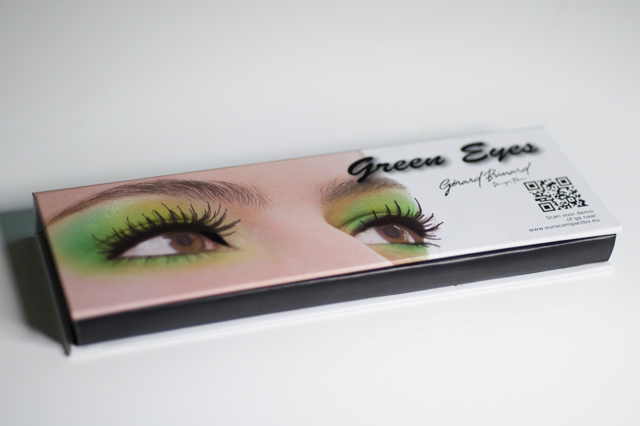 Gerard Brinard Green Eyes kit palette