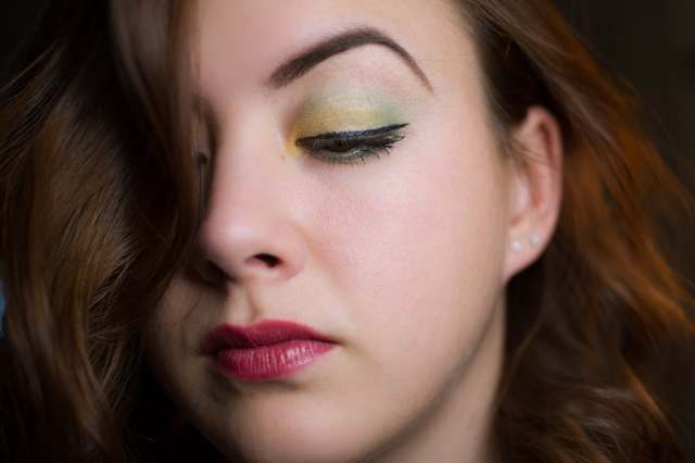 Gerard Brinard Green Eyes kit palette look