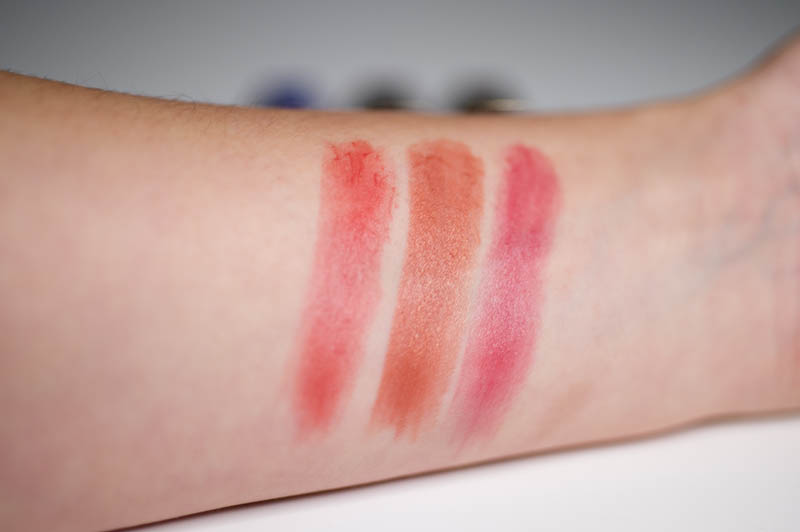 Lipstick Trio van Gerard Brinard swatches