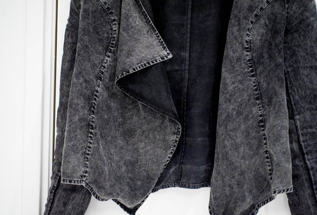 Sans Online Only Blazer Denim