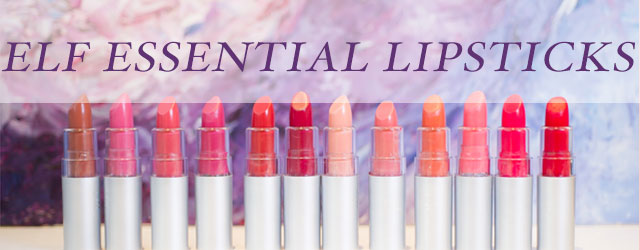 ELF ESSENTIAL LIPSTICK COLLECTION
