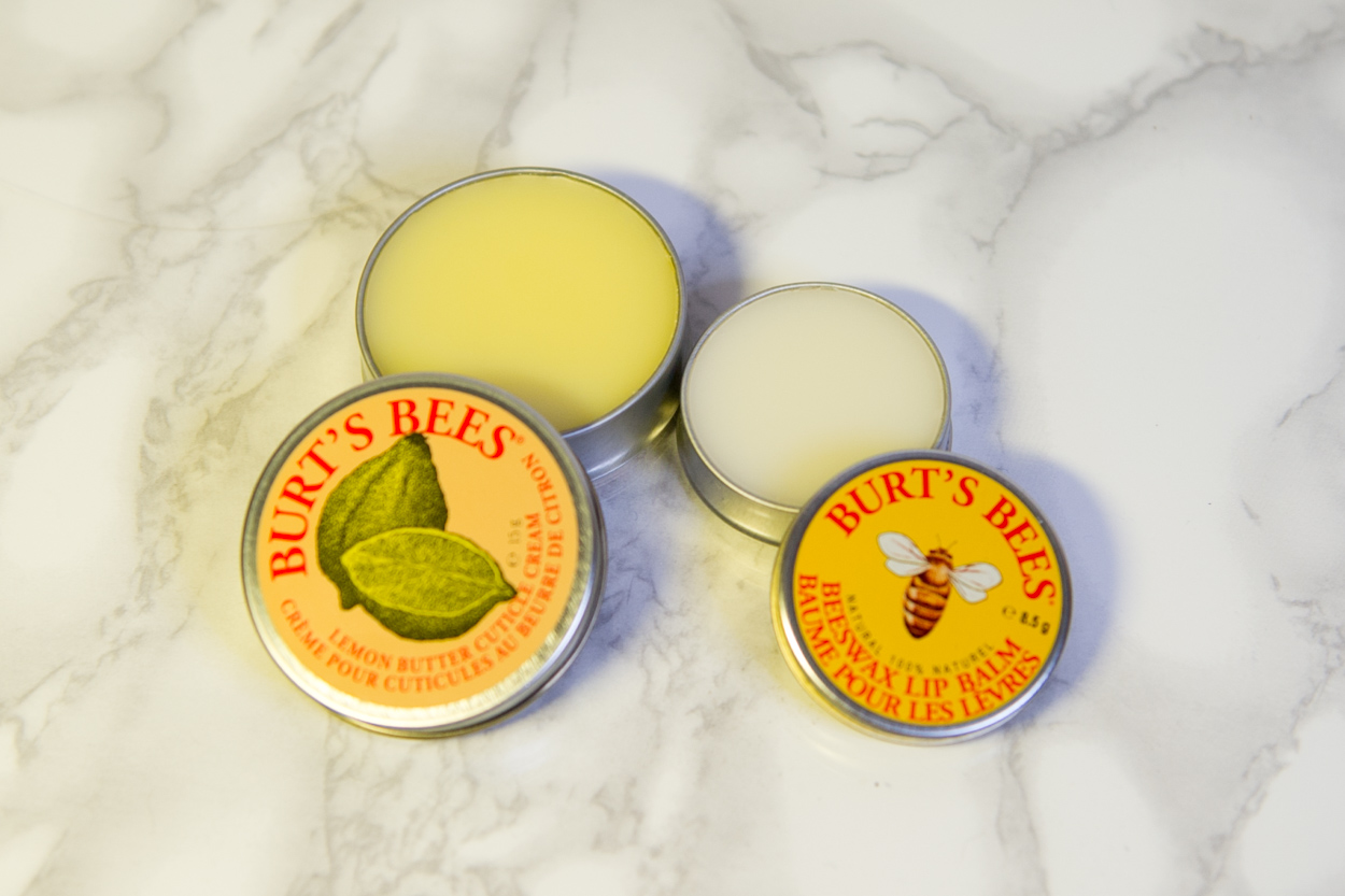 Lemon Butter Cuticle Cream & Beeswax Lipbalm