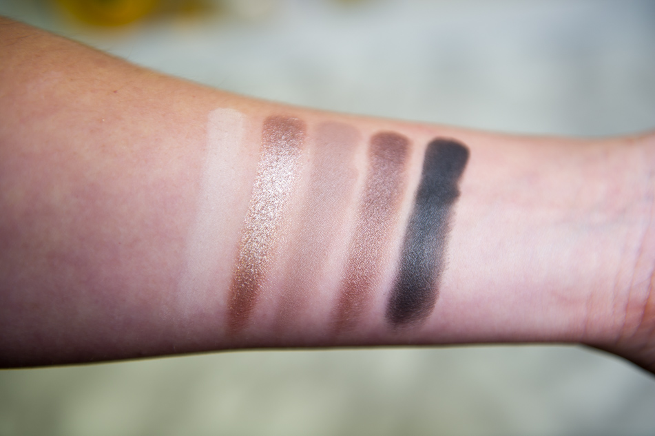 Death by Chocolate palette swatches