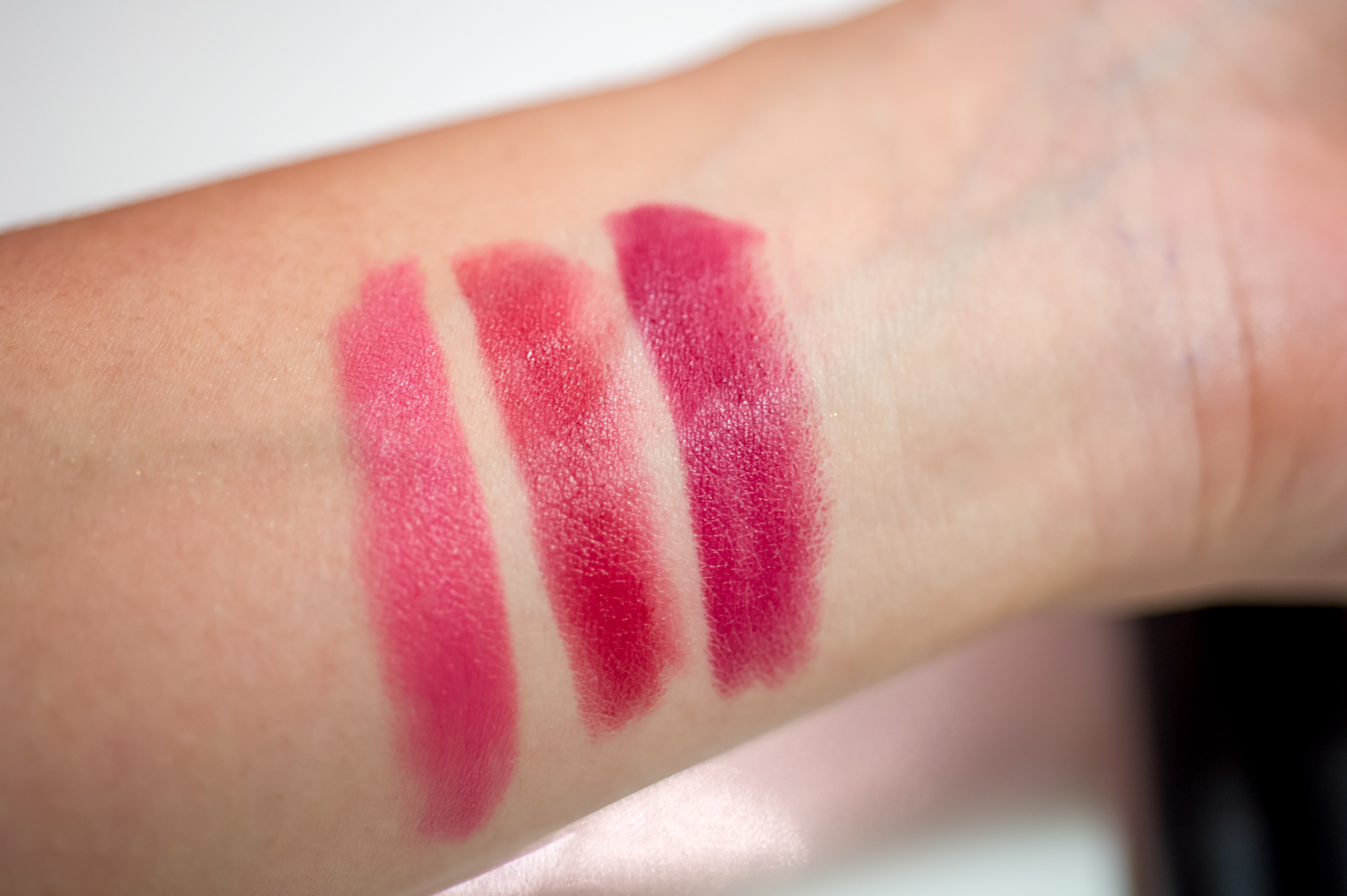 Elf Eyes Lips Face Matte Lippecils swatches & review