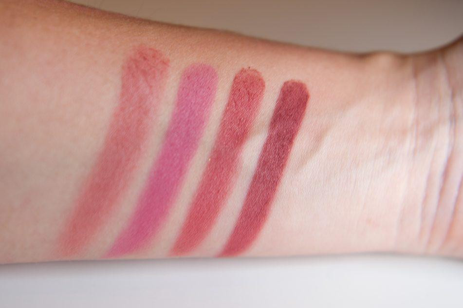 elf blush palette dark review swatches