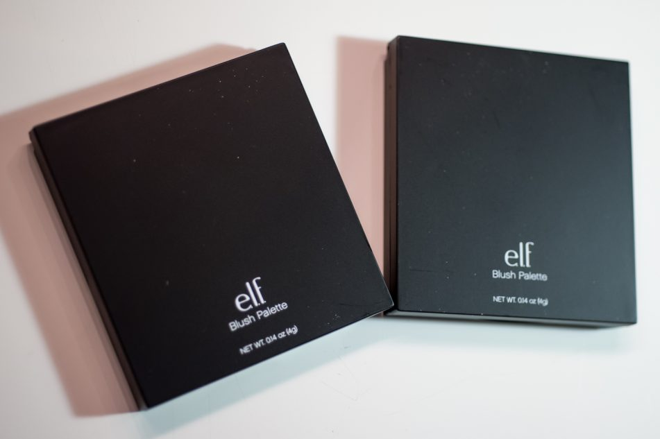 ELf blush palette light dark review