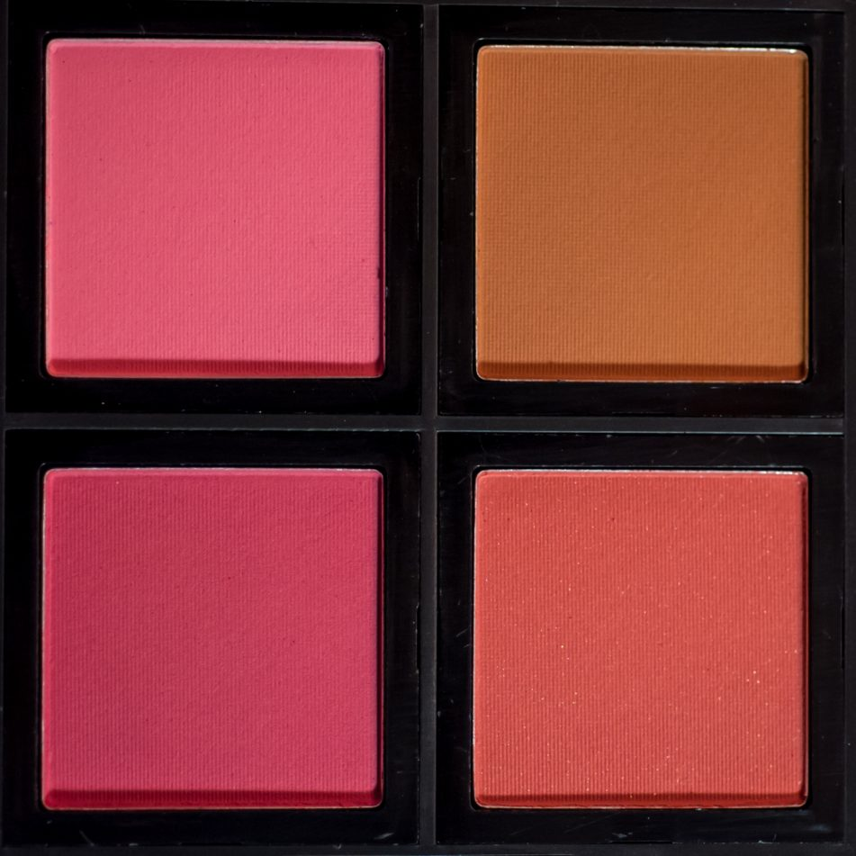 elf blush palette light review swatches