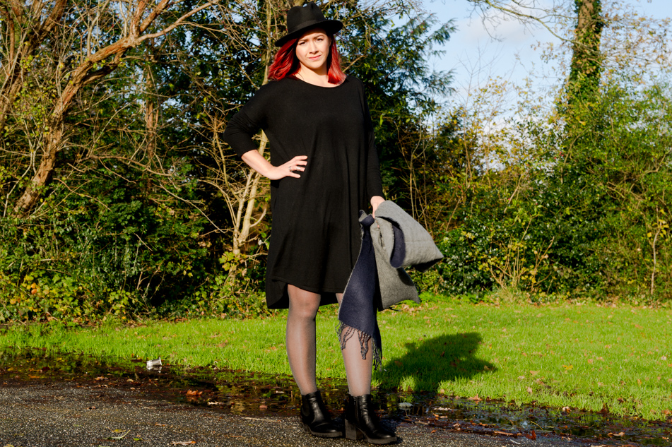 OOTD - Oversized Dress van Twinkeltje