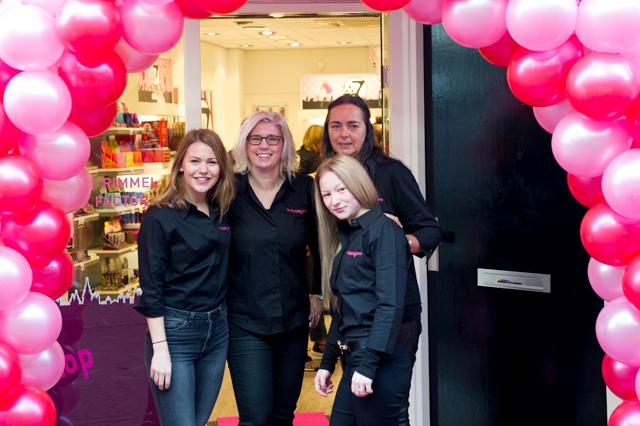 Opening van The Beauty Shop team