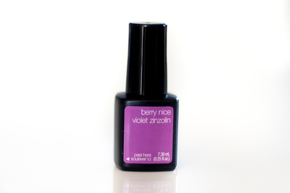 Sensationail Escape to the tropics berry nice