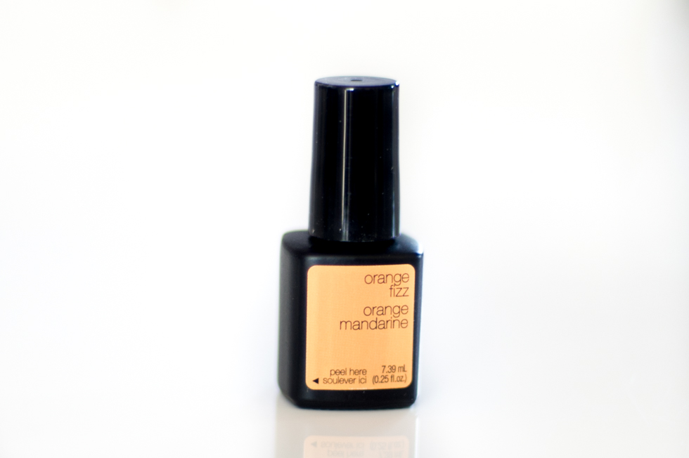 Sensationail Escape to the tropics orange fizz