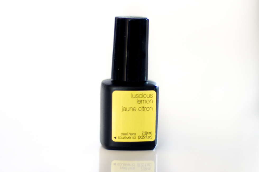 Sensationail Escape to the tropics luscious lemon