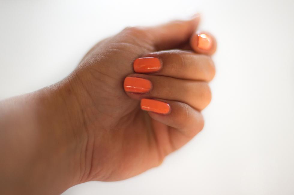 Sensationail Escape to the tropics orange fizz
