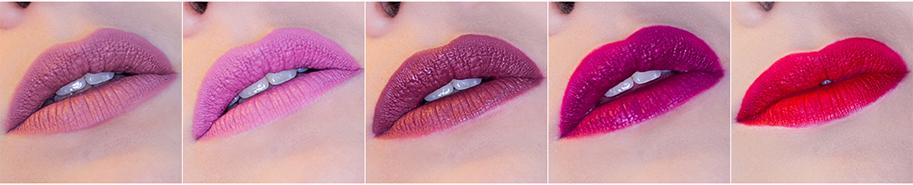 Colourpop Foxy Ultra Matte Lip swatches