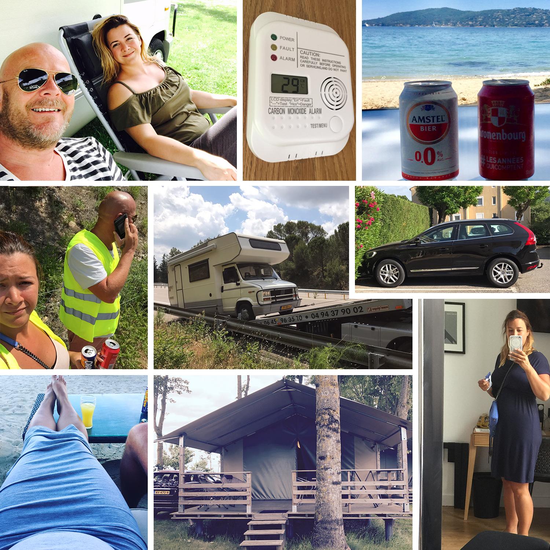 tweede trimester vakantie camper kamperen