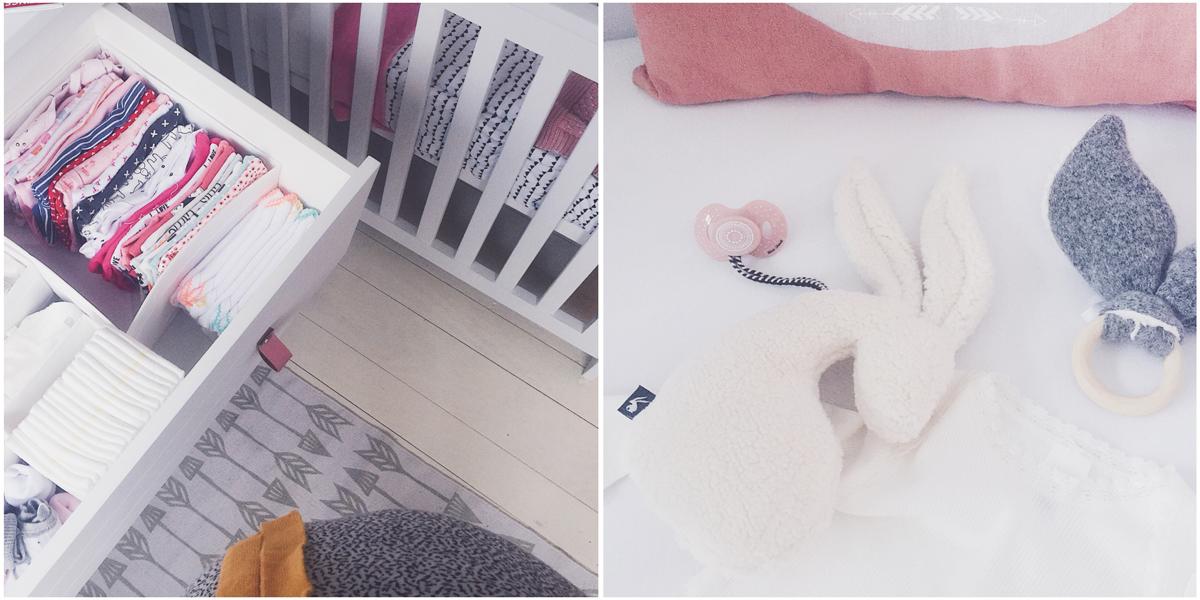 3e trimester zwangerschap babykamer klaar