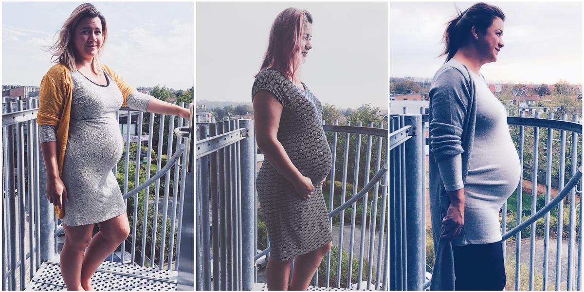 3e trimester zwangerschap groeiende buik laatste loodjes
