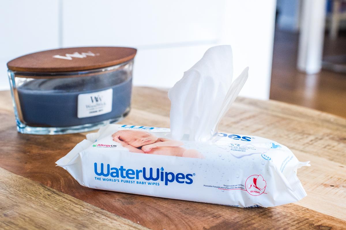 Waterwipes babydoekjes, billendoekjes, natte doekjes. Natuurlijk en verzorgend voor je baby