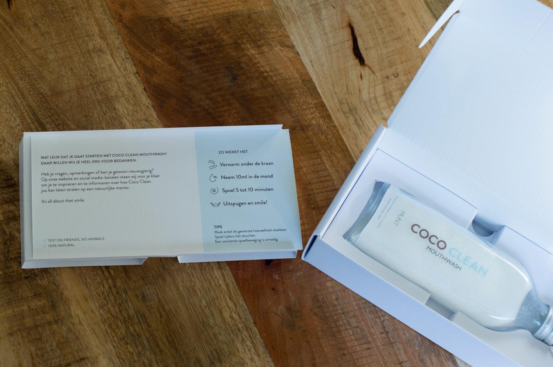 Coco clean oil pulling montdwater voor witte tanden